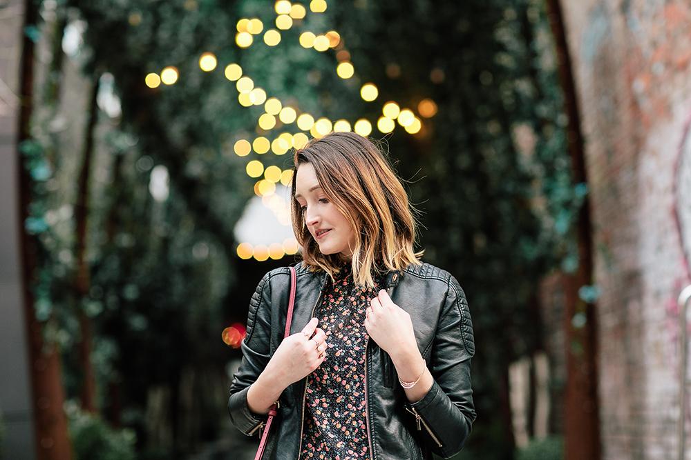 Floral Shirt Target Justfab Faux Leather Jacket Nomo Soho